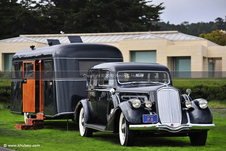 1936 Pierce Arrow V 12 Berlin With Pierce Arrow Travelodge Travel
