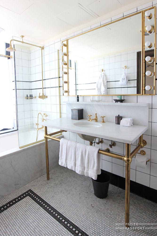 Ludlow Hotel New York Petite Passport Bathroom Design Ludlow Hotel Room Door Design
