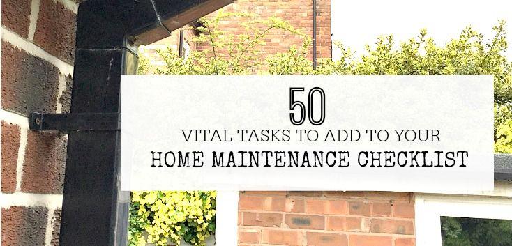 Photo of 50 wichtige Aufgaben, die auf Ihrer Checkliste für die Hauswartung stehen sollten