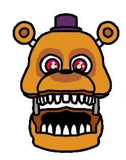 Fnaf World Adventure Nightmare Fredbear Fnaf Foxy And Mangle Five Nights At Freddy S