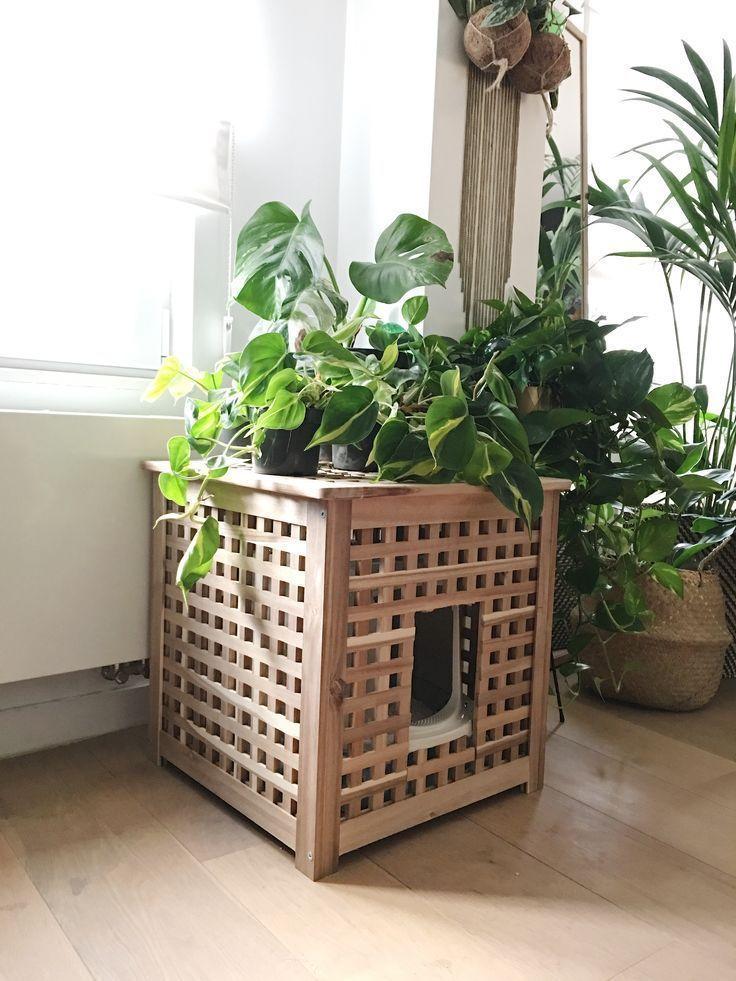 Ikea HOL hacking to hide the cat litter box  Now tap the l   Katzenkram