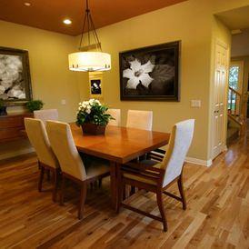 Dining Room Flooring Ideas - www.factorydirecthardwoodliquidators.com