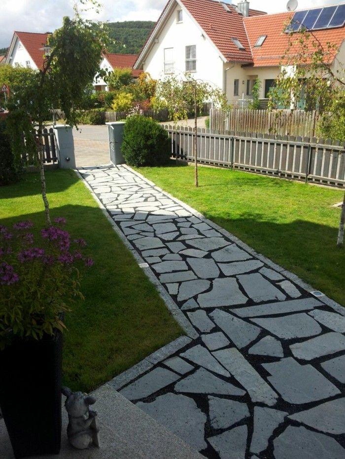 der klassiker in der gartengestaltung polygonalplatten landschaftsbau gartenbau und gartenweg. Black Bedroom Furniture Sets. Home Design Ideas