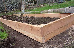 Raised Garden Beds Building A Raised Garden Sloped Garden
