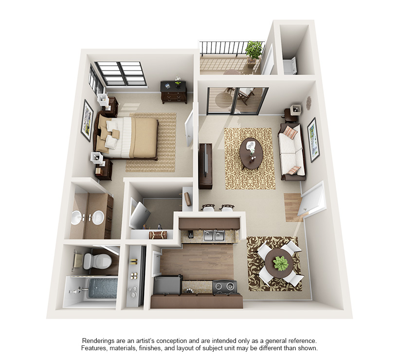 Luxury 1 and 2 Bedroom Apartments in Austin, TX