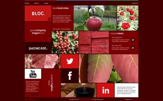 Fresh Adobe Muse Templates Web Design Development Pinterest - Adobe muse website templates