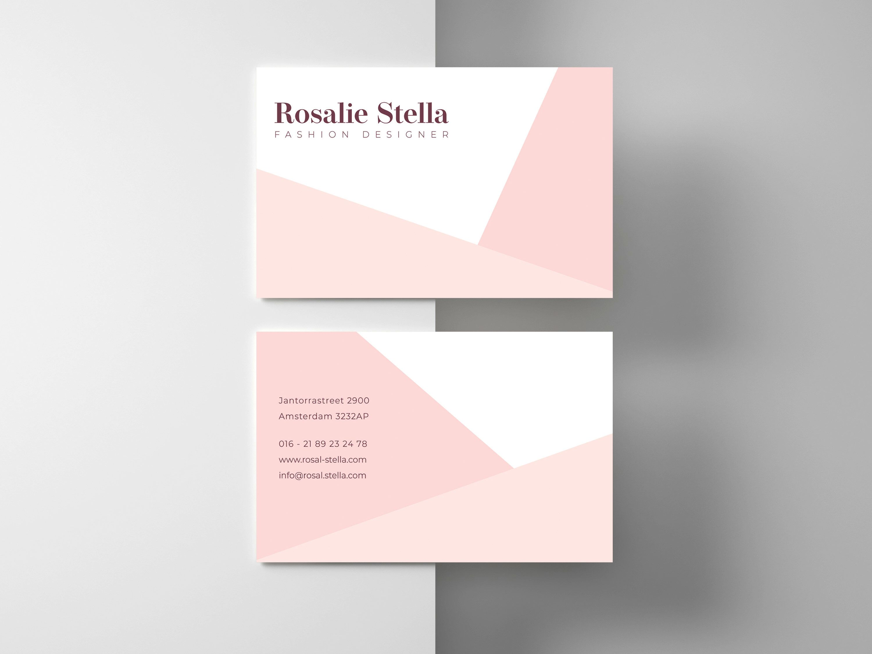 Business Card Template Business Cards Custom Business Card Etsy Business Card Design Fashion Fashion Business Cards Calling Card Design