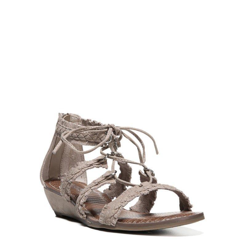 7b6a0f3e46bb Carlos BY Carlos Santana Women s Kenzie Lace Up Sandals (Soft Taupe) - 6.0 M