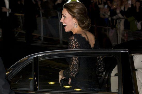 Pregnant Kate Middleton Makes a Stunning Appearance With William