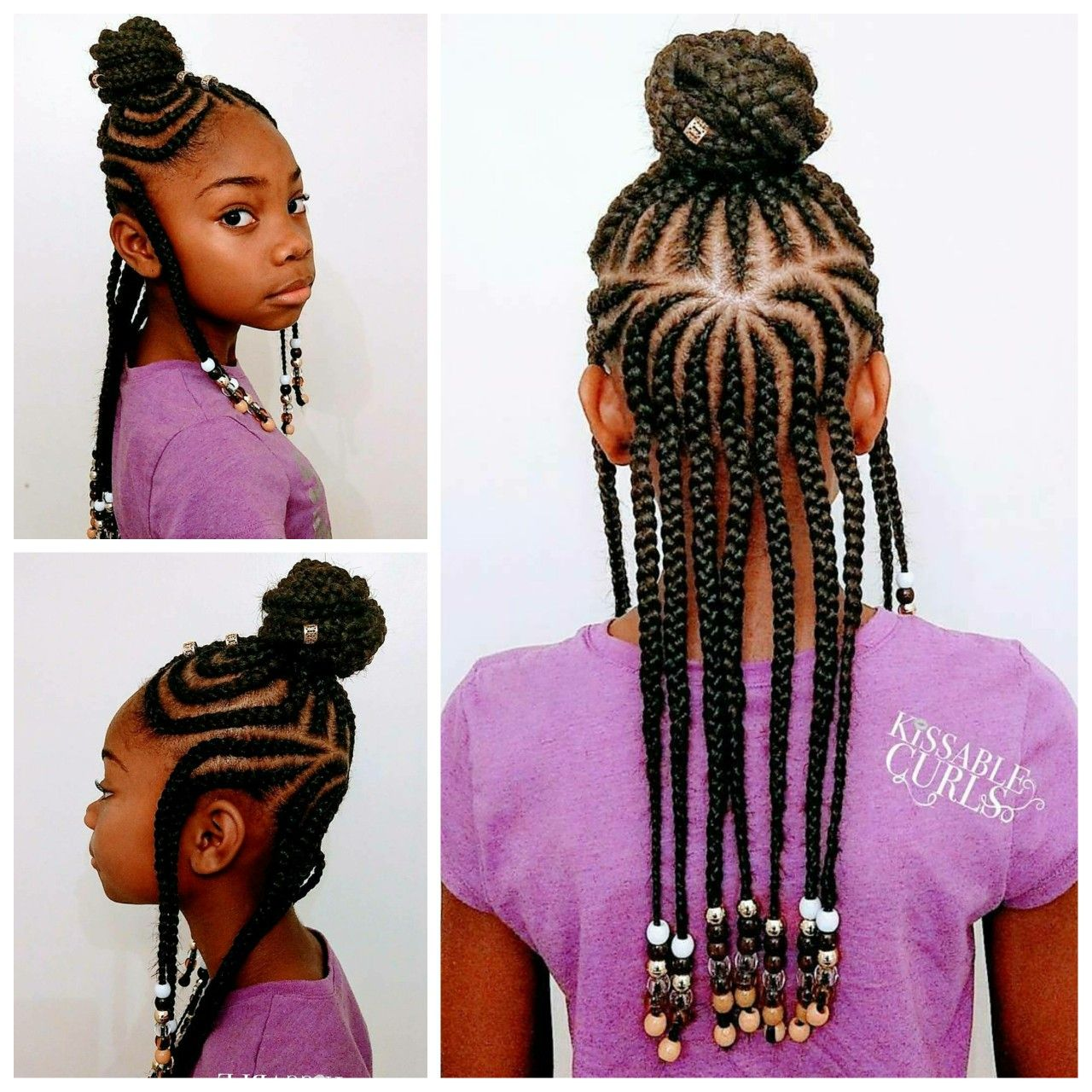 fulani inspired braids with beads | hairstyles | hair styles
