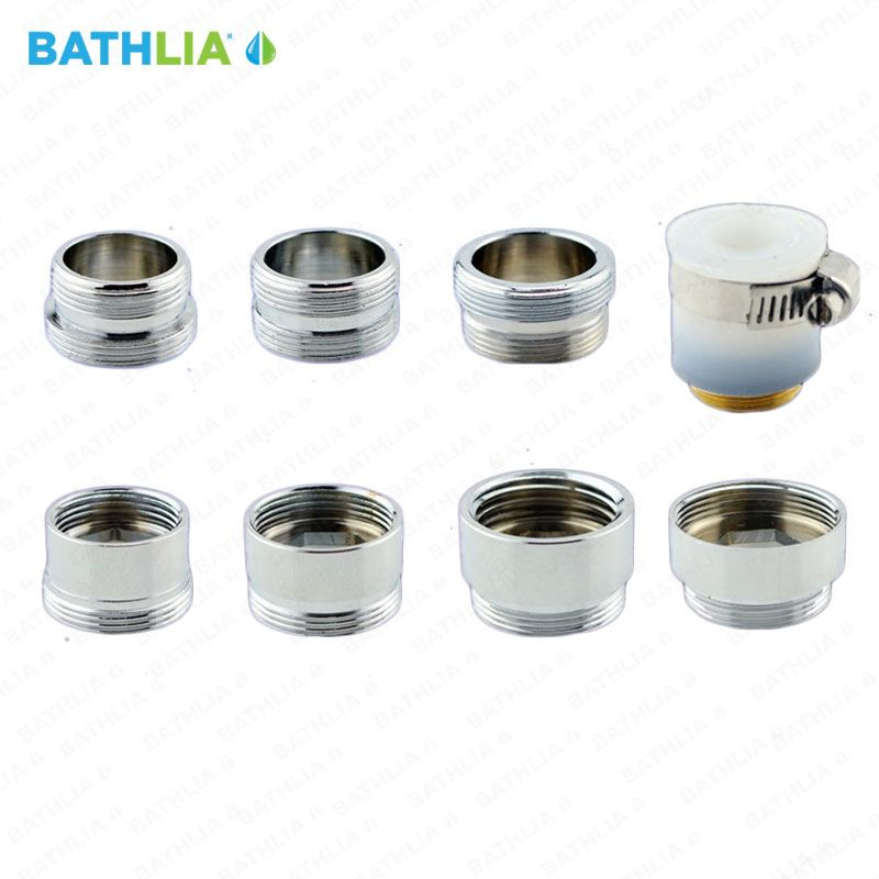G1 2 Faucet Connector Adapter Universal Screw Adapter Bathroom Adapter With Water Saving Brass Adapter For Shower Hose Kitchen Fixture Faucet Kitchen Fixtures