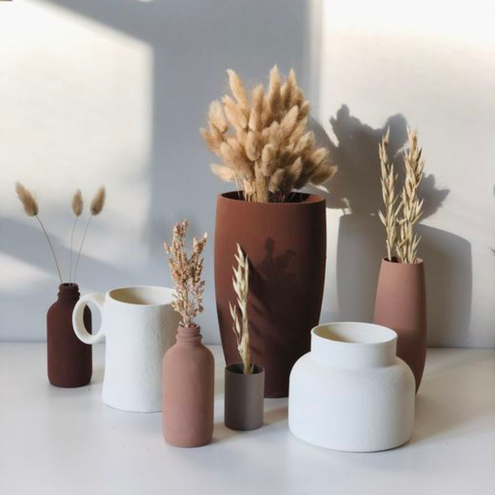 A DIY Hack to Turn Any Old Vase Into a Terracotta Masterpiece