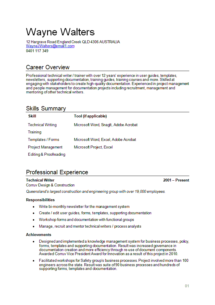 resume examples qld resume examples pinterest resume examples