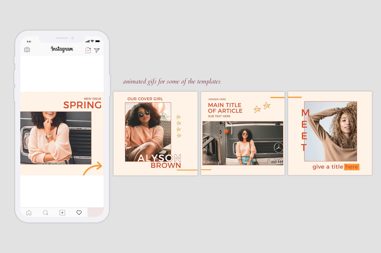 Instagram Carousels Pack Social Media Design Inspiration Instagram Instagram Design
