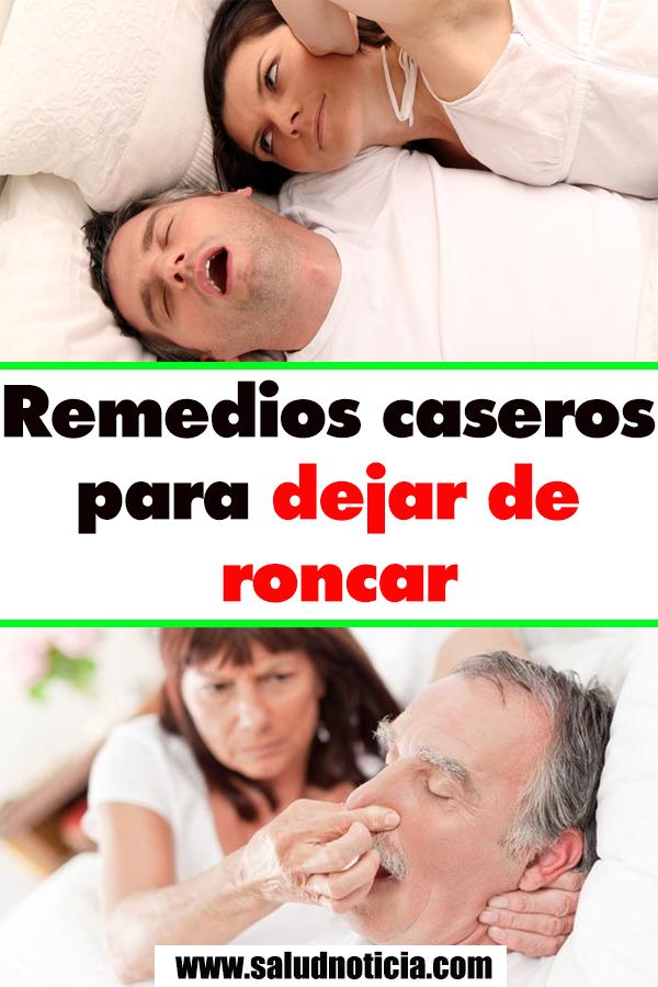 Como Dejar De Roncar Remedios Caseros Remedios Caseros Para Dejar De Roncar Con Imagenes Remedios