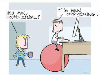 CARTOONS EN ILLUSTRATIES: Cartoon: Zitbal