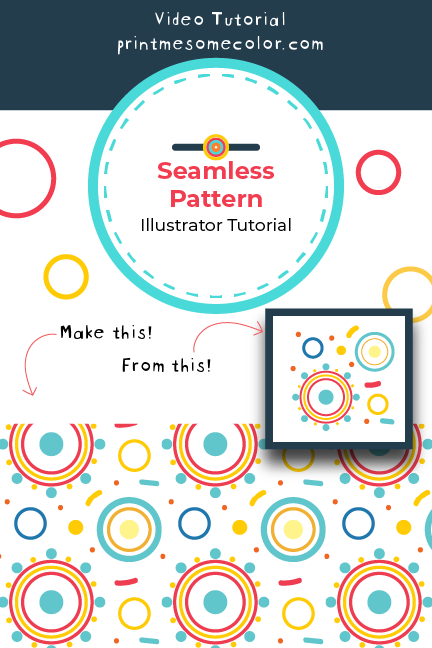 Learn To Make Seamless Patterns Using The Inbuilt Make Pattern