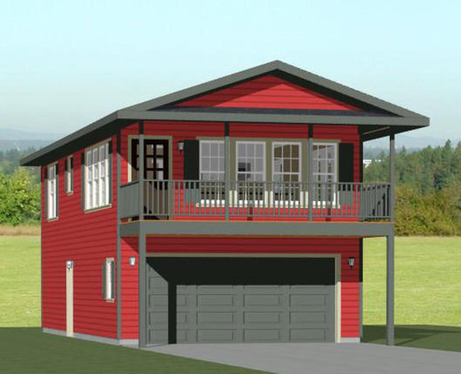 20x40 House 1Bedroom 1.5Bath 965 sq ft PDF Floor Etsy