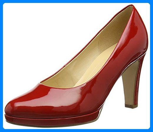 Gabor Splendid, Damen Pumps , Rot Red (Red Patent HT