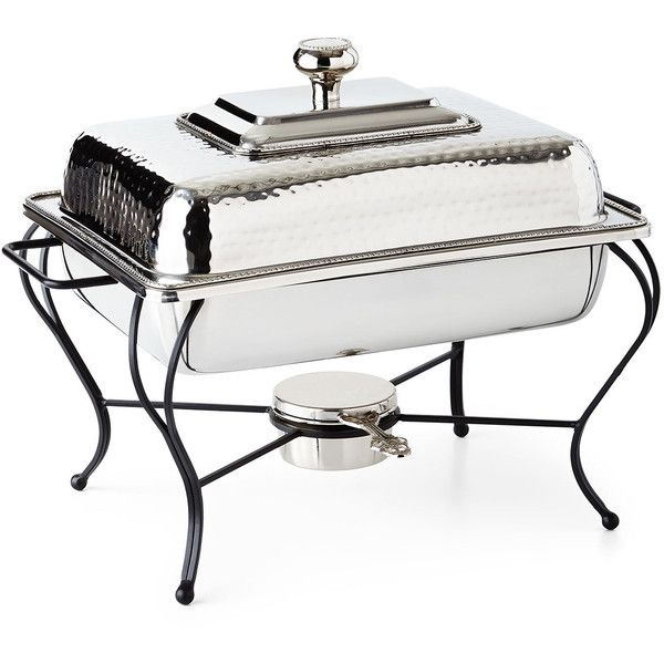 Chafing Dish Rack Amusing Star Home Designs 4Quart Rectangular Chafing Dish $340 ❤ Liked Design Ideas
