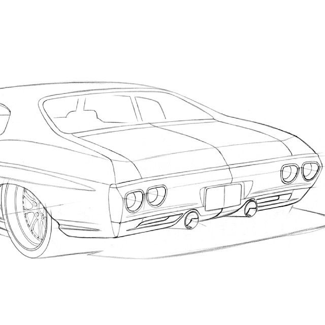 awesome attention to detail from ragle design 70 chevelle pro C7 Corvette Front Suspension awesome attention to detail from ragle design 70 chevelle pro touring rendering custom bumper ground effects body kit front line drawing rear sketch no