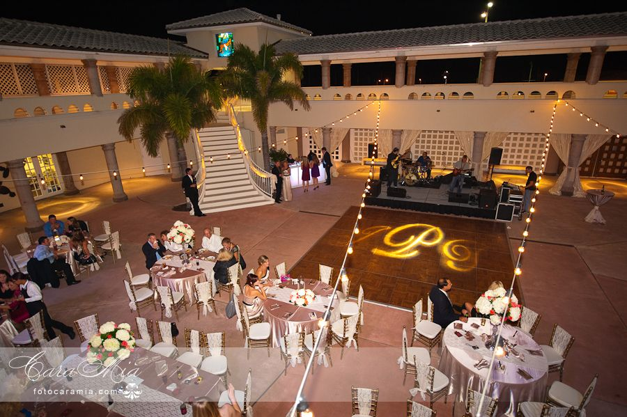 Project Couples Initials On The Dance Floor Photos By Cara Mia At