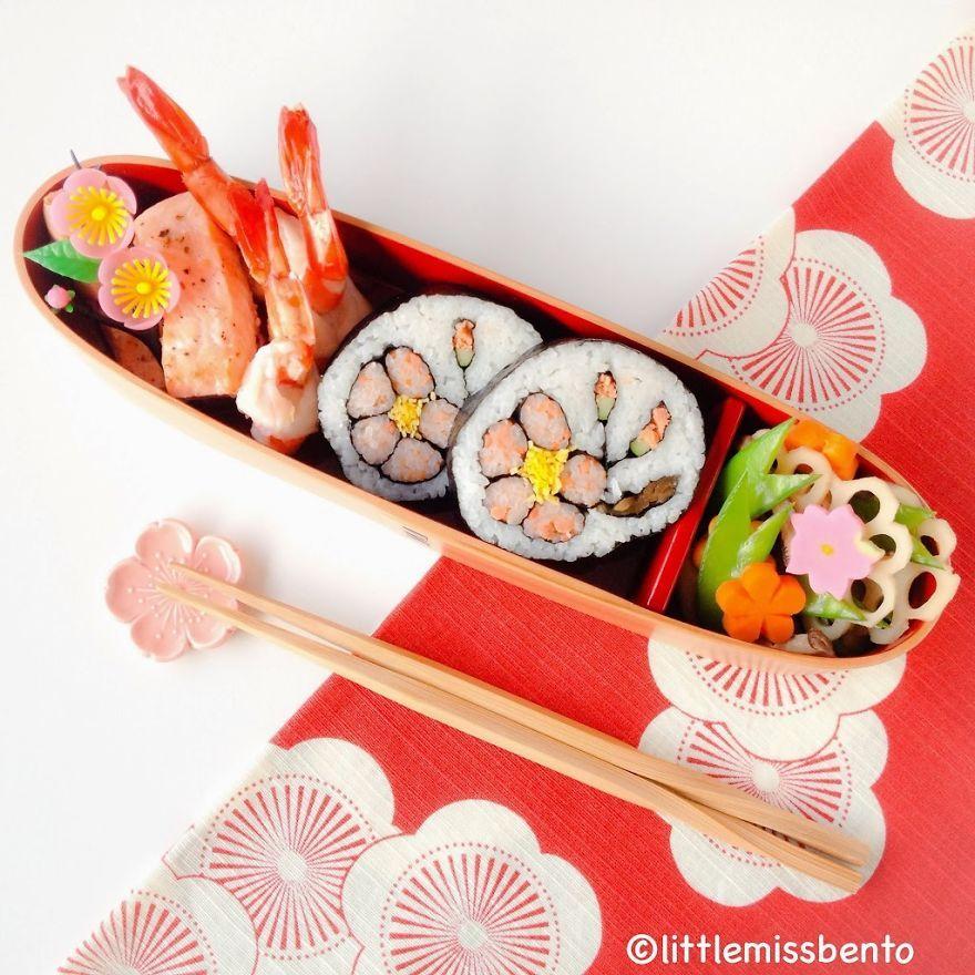 Japanese Plum Sushi Art Roll