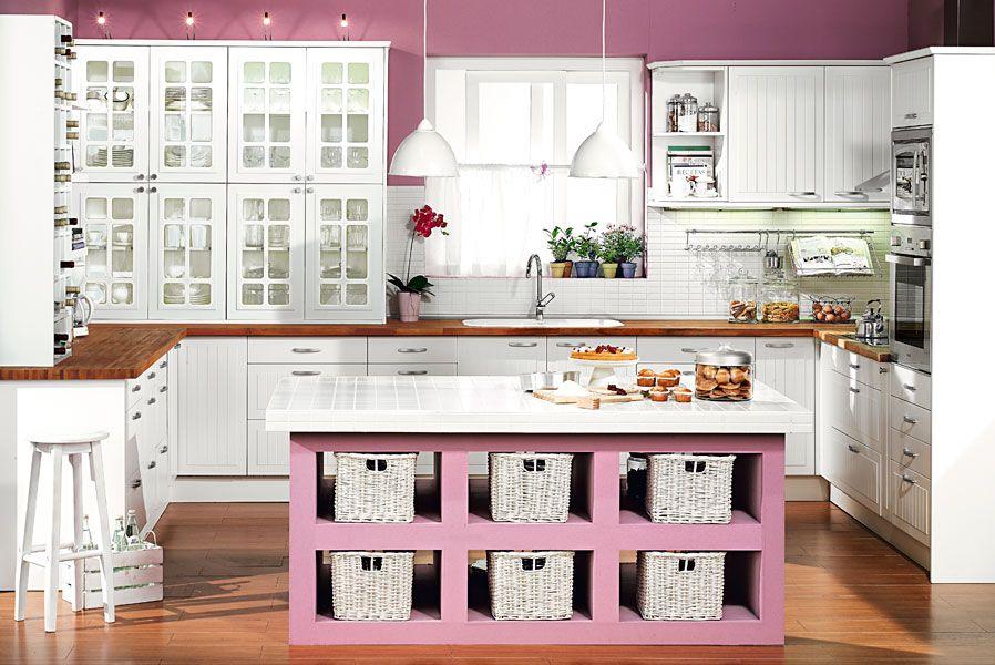 Sueña tu cocina en blanco - Leroy Merlin - Bricolaje, construcción ...