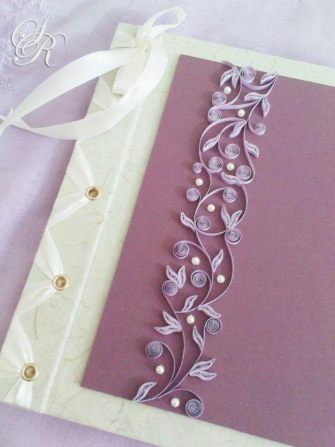 Simple Rhyme Wedding Guestbook Mohd Herzali Nurul Akma Quilling Designsquilling