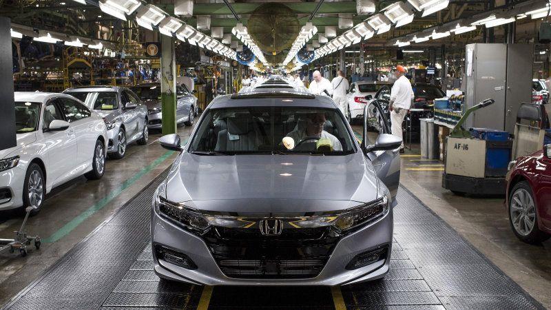 Honda Dealership Denver >> Honda Accord Production Cut Back In Ohio As Consumers Favor