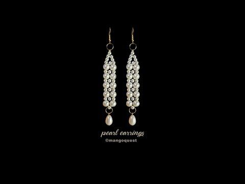 Photo of Pearl Earrings Tutorial Fashion Jewelry DIY