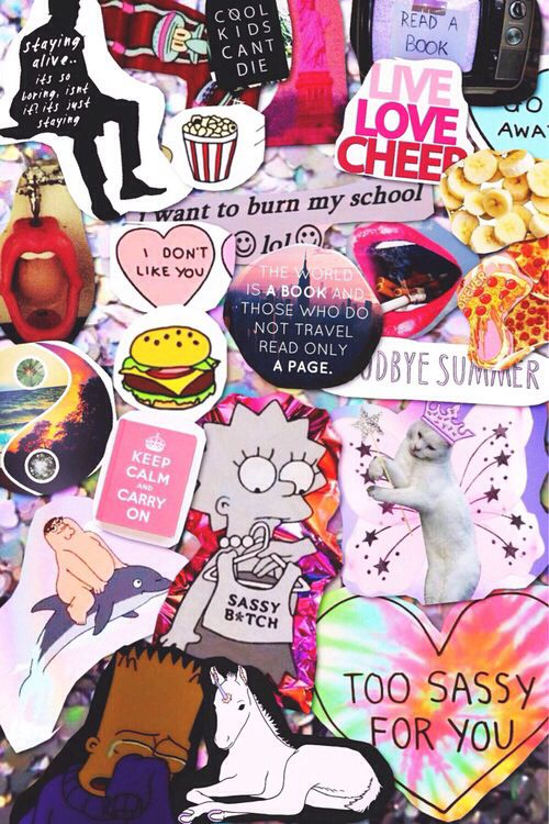 Cute Wallpapers Aesthetic Wallpapers Collage Art
