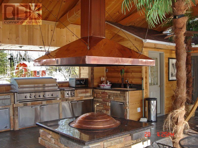 Fire Pit Hood Chimney ~ Fire pit chimney hoods my next big project pinterest