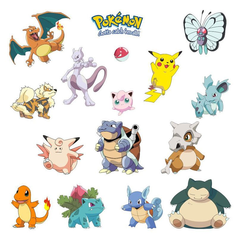 Cheap pokemon cat Buy Quality sticker buyer directly from China