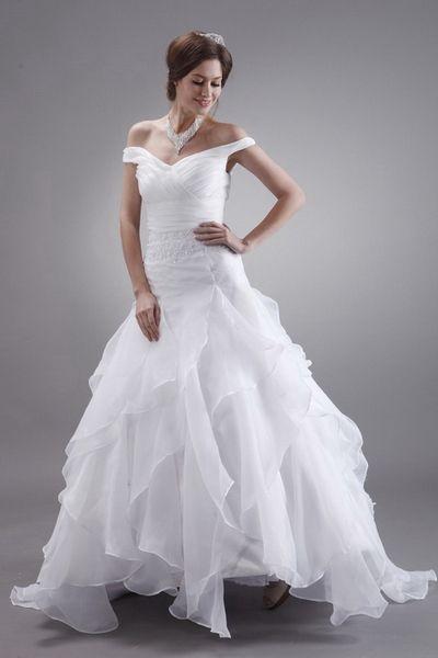 robe de mariee hors epaule