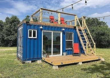 Conroe Tiny House *must be moved by a mobile home or house mover