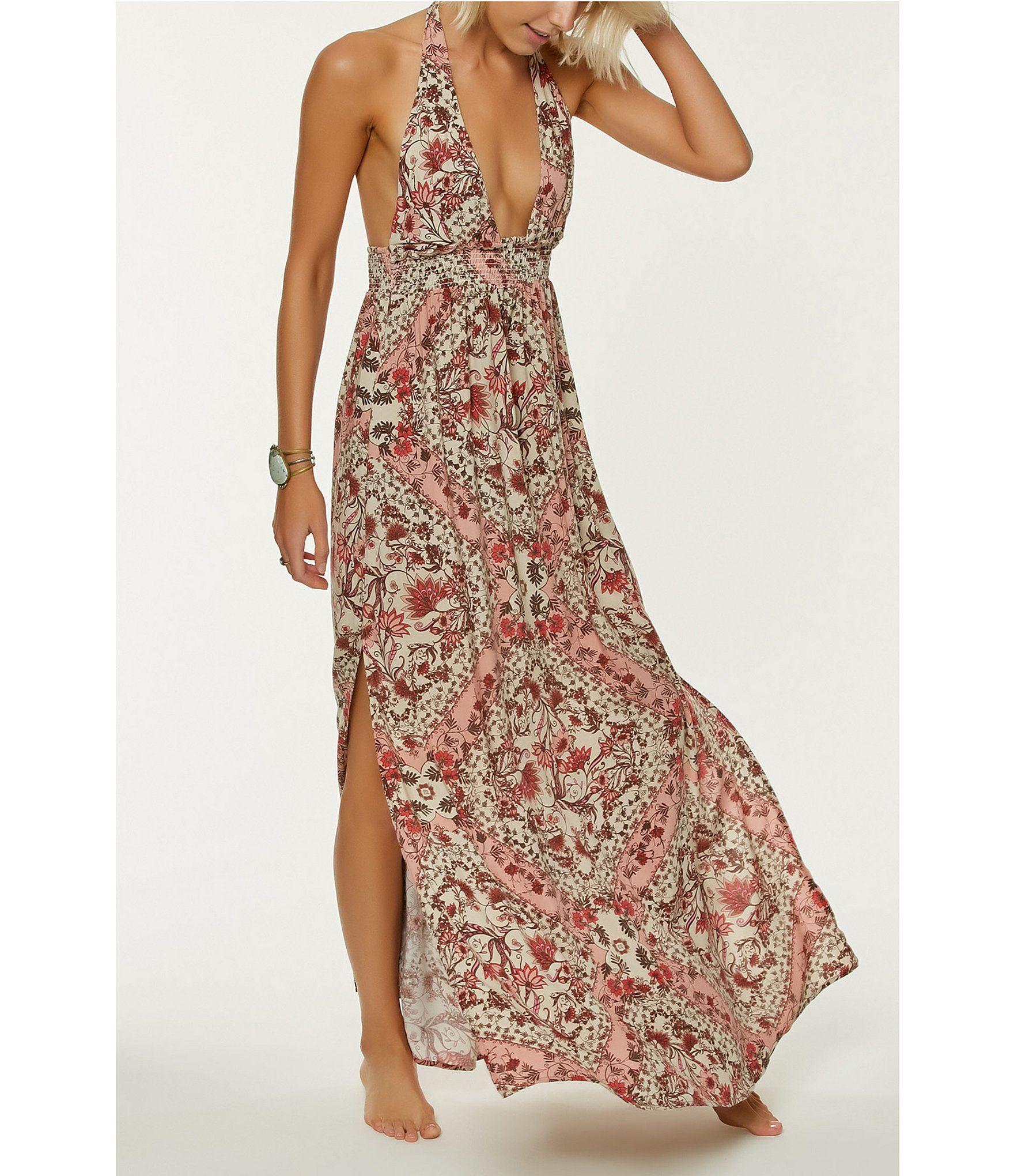 e0c5ea596d2 ONeill Dolley Halter Floral Print Maxi Dress  Dillards Love this dress!!!
