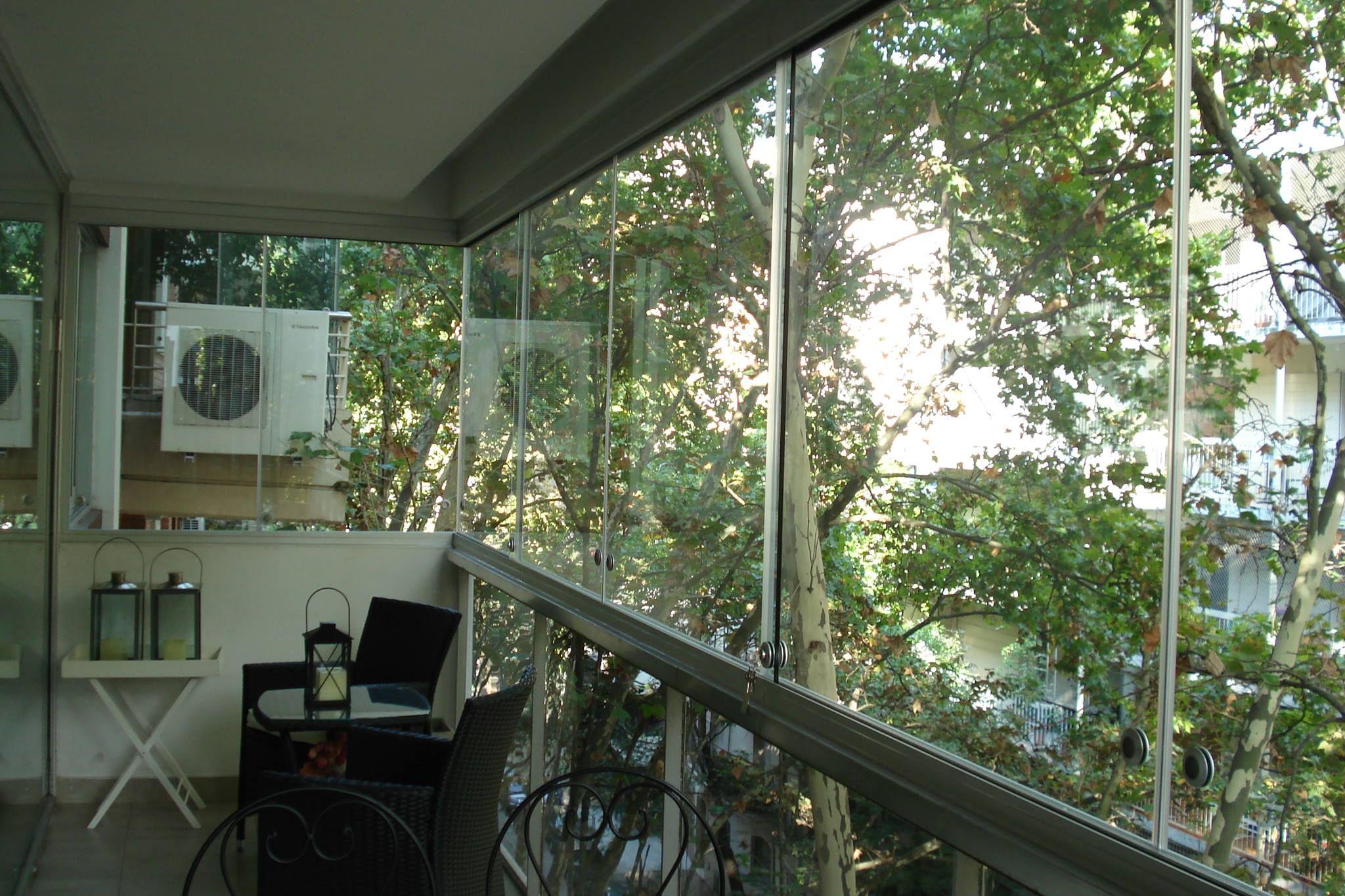 Balcon Cerrado Sin Parantes Balcones Hogar Terrazas