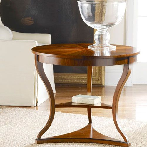 Modern History Large Regency End Table End Tables Traditional