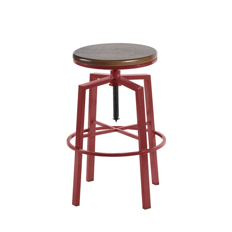 Astounding Creekmont Adjustable Height Swivel Bar Stool House Home Pabps2019 Chair Design Images Pabps2019Com