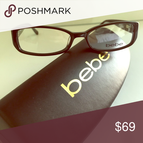 1f1c41adf6be Eyewear Brand new Bebe frames w case style  Affluent (BB5007) color  jet  black bebe Accessories Glasses