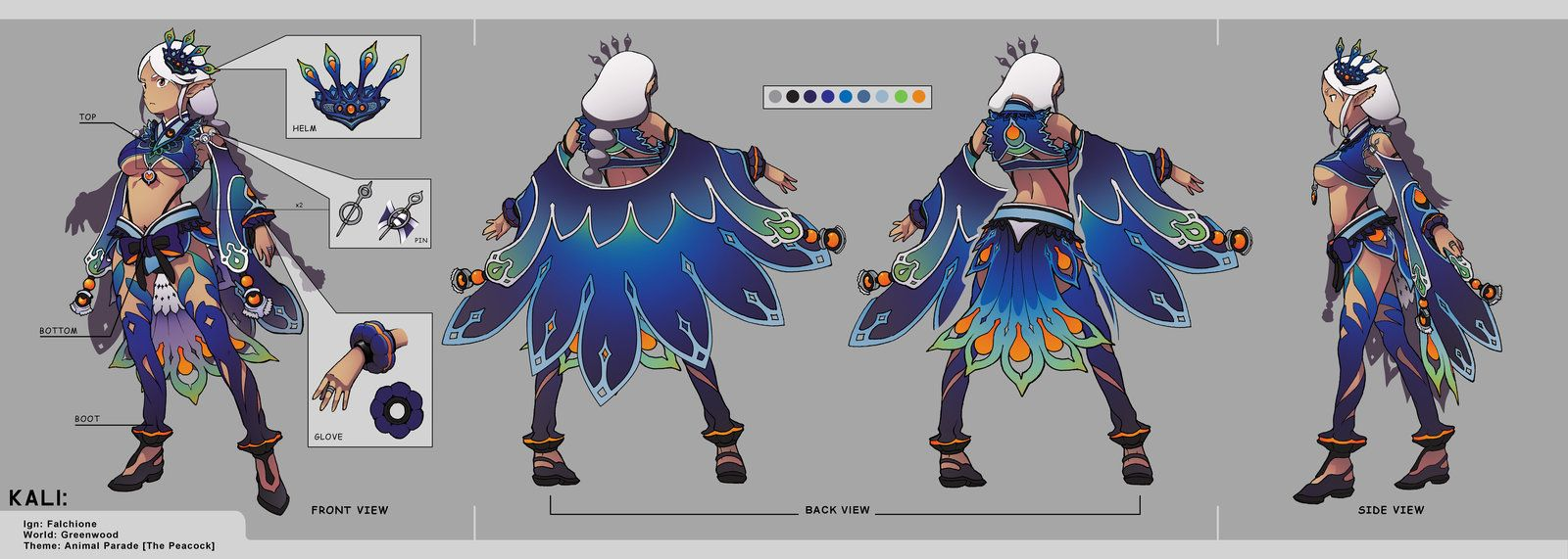 Google themes dragon nest - My Entry Costume Design For Kali Class In Dragon Nest Dragon Nest Kali Costume Set