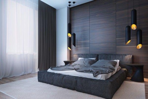 22+ Dark wood themed bedroom trends