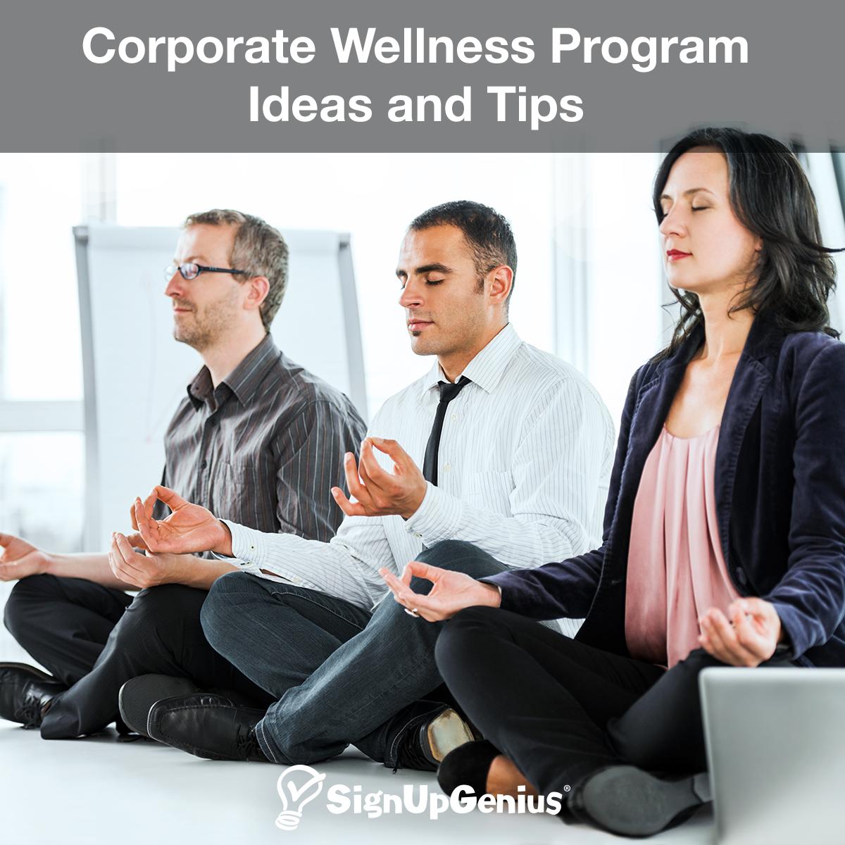 employee wellness programs ideas
