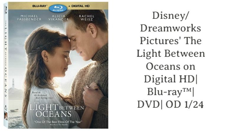 Disney Dreamworks Pictures The Light Between Oceans Blu Ray The Light Between Oceans Romantic Films Dreamworks