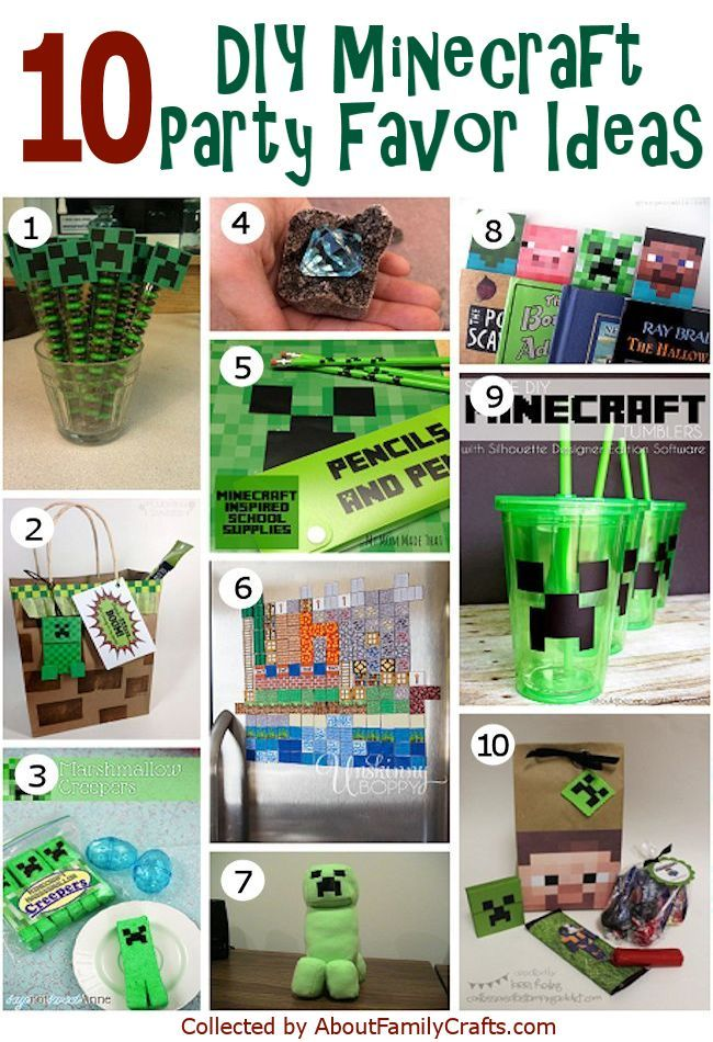 50 diy minecraft birthday party ideas about family crafts party 50 diy minecraft birthday party ideas about family crafts solutioingenieria Images