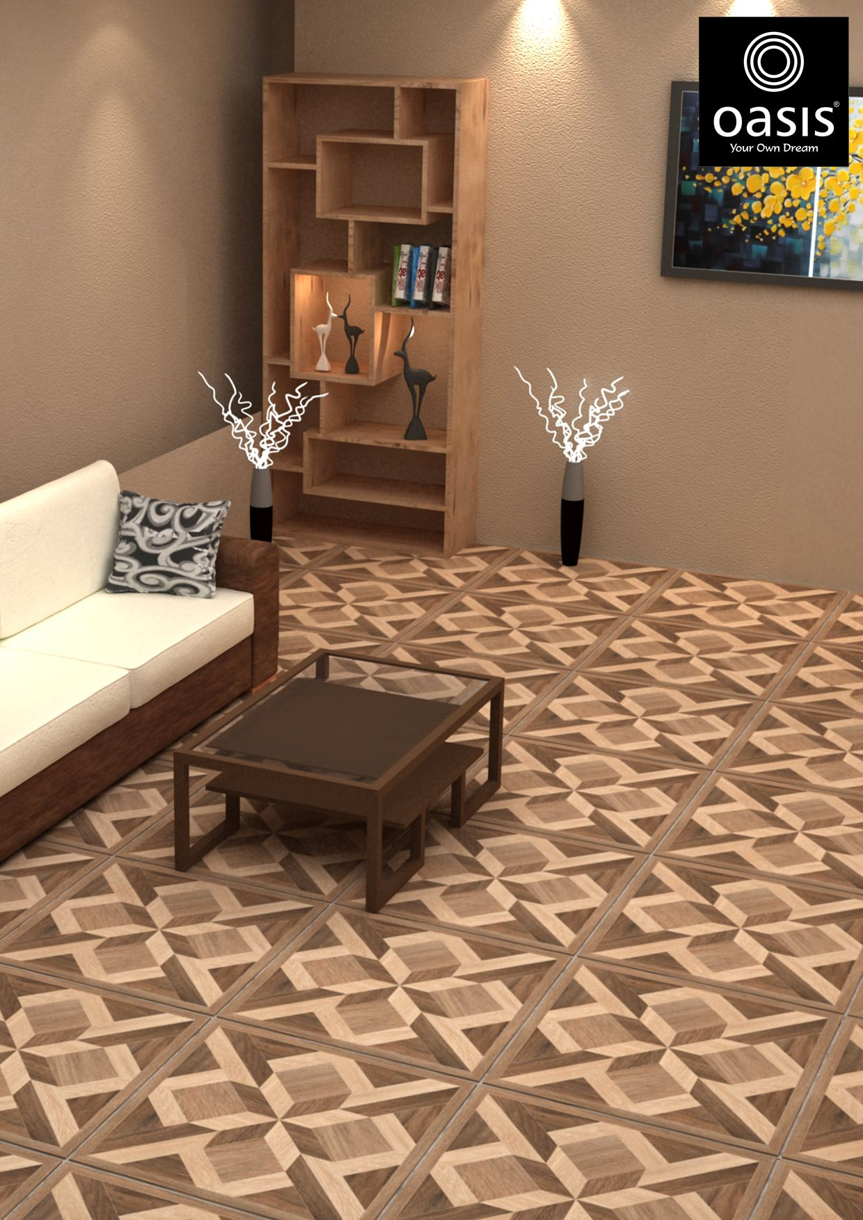 Pin by Oasis Tiles - India on Best Floor Tiles for Living