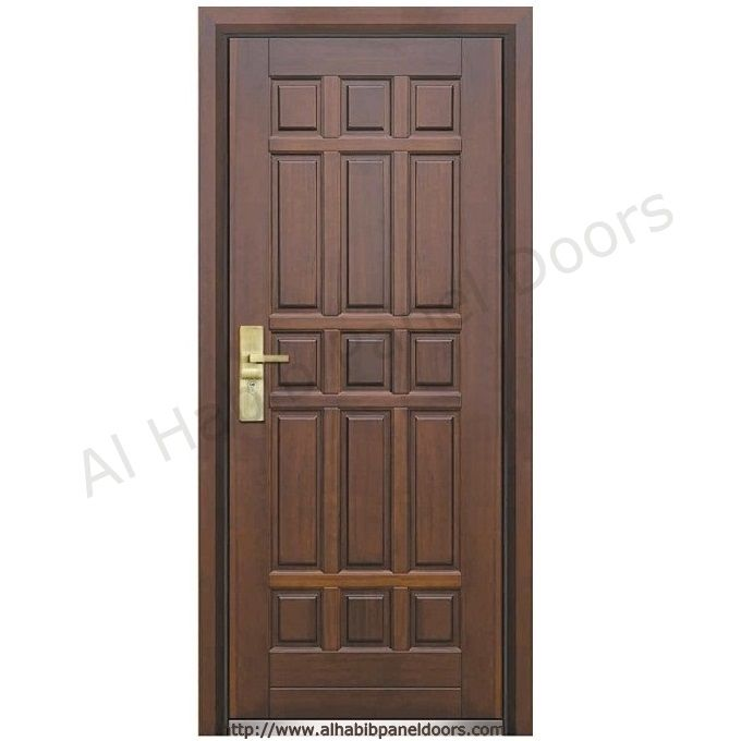 American Ash Wood Entry Door Hpd426 Solid Wood Doors Al Habib
