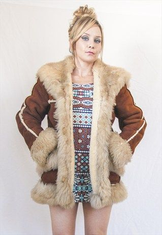 Sheep Fur Coat | Fur coats women, Fur
