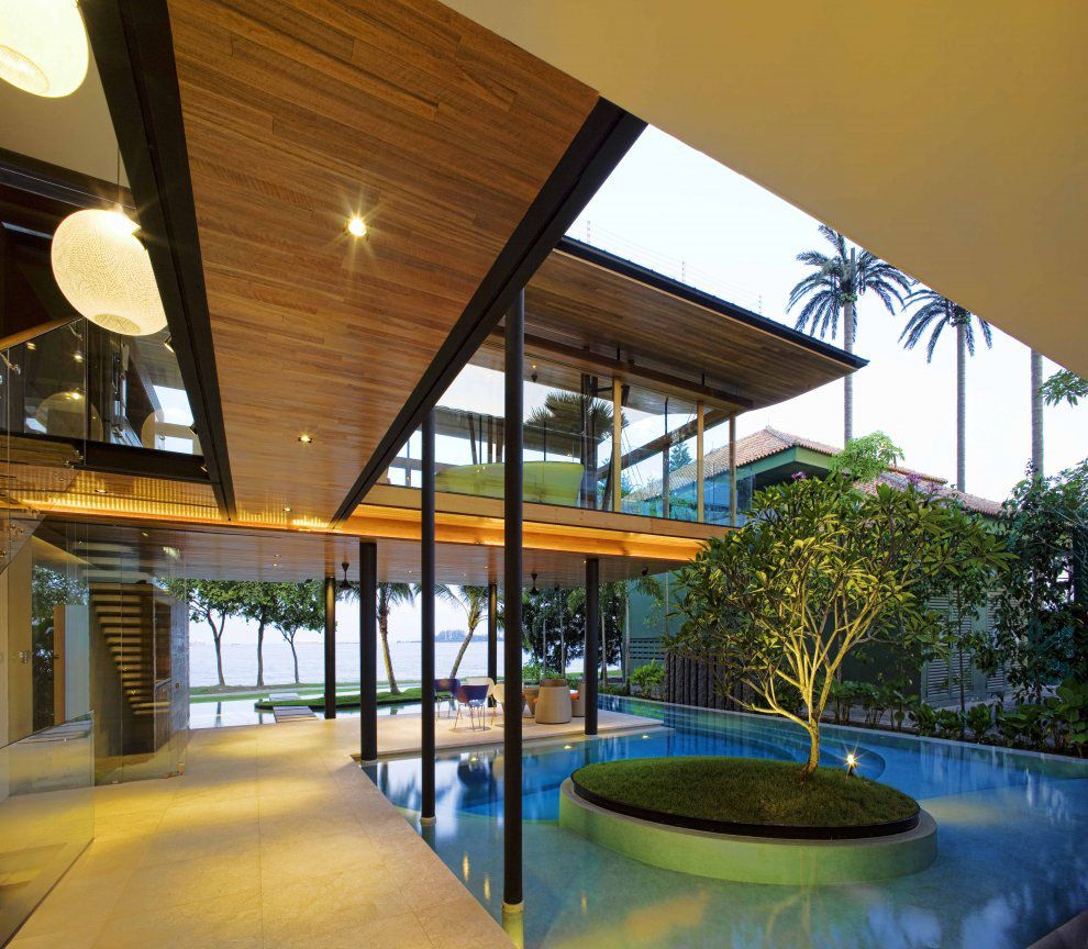 Superb Environmentally Friendly Modern Tropical House In Singapore | IDesignArch | Interior  Design, Architecture U0026 Interior